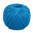 Blue embroidery floss — Stock Photo