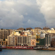 Stock Photo: St. Julian's from seside. Malta