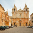 Royalty-Free Stock Photo: St. Peter & Paul Cathedral at Mdina