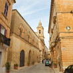 Old street of Mdina — Stock Photo