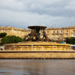 Triton fountain  at Valletta. Malta — Stock Photo