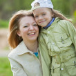 Mother with her daughter — Stock Photo #4618903