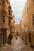 Street in old Valletta — Stock Photo