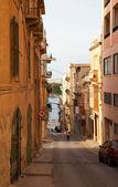Ulica stare miasto europejskie — Zdjęcie stockowe
