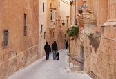 Starej ulicy miasta europy — Zdjęcie stockowe