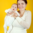 Mother with her daughter — Stock Photo