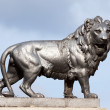 Sculpture of lion - Stock Photo