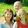 Stock Photo: Family from four