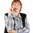 Senior businesswoman portrait — Stock Photo