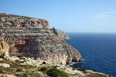 Cliffs of Maltese islands — Stock Photo