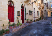 Street of mediterranean town. — Stock Photo