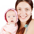 Happy mother with little daughter — Stock Photo #4833077