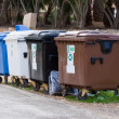 Recycle Bin containers - Stock Photo