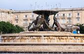 Triton fountain. Malta — Stock Photo