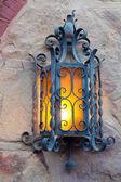 Old decoration lantern — Stock Photo