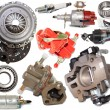 Stock Photo: Set of automotive spare parts