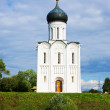 Church of Intercession on River Nerl — Stock Photo #5149953