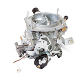 New carburetor. Isolated on white — Stock Photo