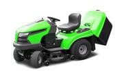 Green lawn mower — Stock Photo