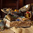 Foto de Stock  : Old treasure chests