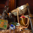 Stock Photo: Treasure chests. Shallow DOF