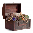 Treasure trunk - Stock Photo