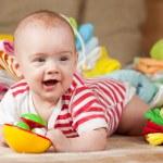 Happy baby girl — Stock Photo #5152309