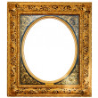 Royalty-Free Stock Photo: Old gold frame