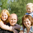 Parents with children — Stock Photo #5152717