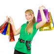 Girl with shopping bags — Stock Photo #5152851