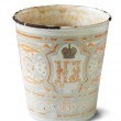 Vintage  cup with  Nicholas II emblem - Photo
