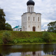 Church of Intercession on River Nerl — Stock Photo #5154541