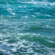 Surface of sea wave — Stock Photo