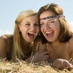 Happy girls — Stock Photo #5155027