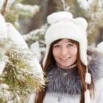 Winter portrait of girl — Stock Photo #5156410