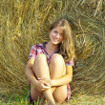 dziewczyna kraj — Zdjęcie stockowe
