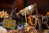 Treasure chests. Shallow DOF — Stock Photo