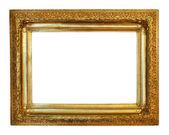 Luxury gilded frame — Stock Photo