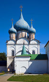 Rozhdestvenskiy temple at Suzdal — Stock Photo