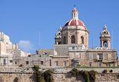Kupolen på senglea. Malta — Stockfoto