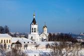 Mosteiro de vladimir em inve — Foto Stock