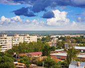 Residential district at Vladimir city — ストック写真