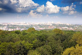 Residential district at Vladimir city — Stock Photo