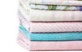 Towel stack — Stock Photo