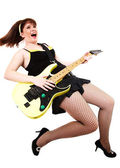 We play rock-n-roll, — Stock Photo
