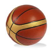 Brown basket-ball ball — Stock Photo