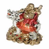 Statuette of Hotei (Buddha) — Stock Photo