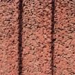 Texture of the red stucco — Stock Photo
