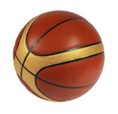Brown basket-ball ball — Stock Photo