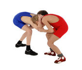 Two wrestlers Greco-Roman wrestling — Stock Photo